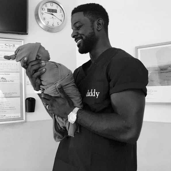 Lance Gross Shares The First Photos Of His New Son Lennon and He's A Total Cutie Pie