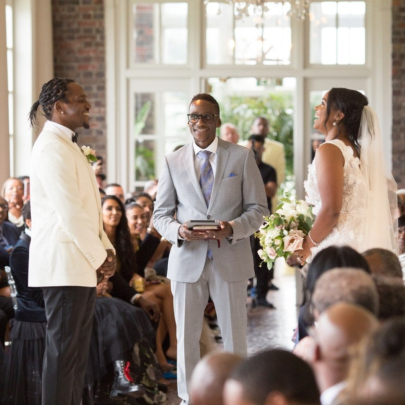 Pusha T Weds Longtime Girlfriend In Star-Studded Virginia Wedding