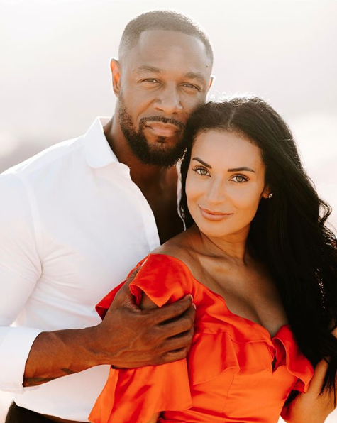 Tank and Longtime Love Zena Foster Tie The Knot In Lavish LA Wedding