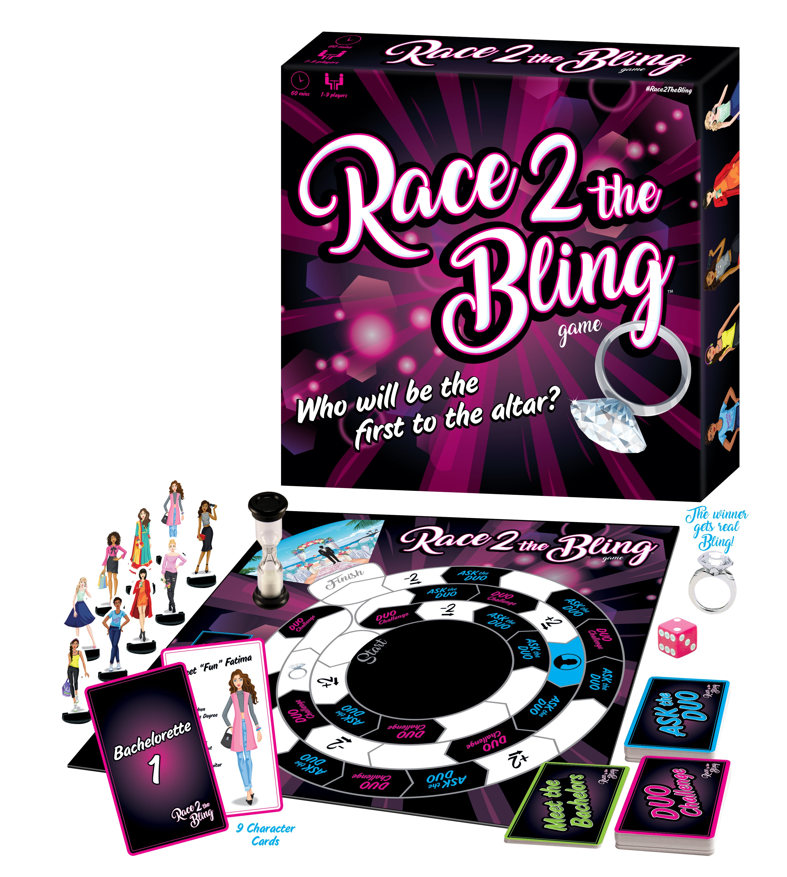 Professional Matchmakers Launch New Race The Bling Board Game For - Board game design software
