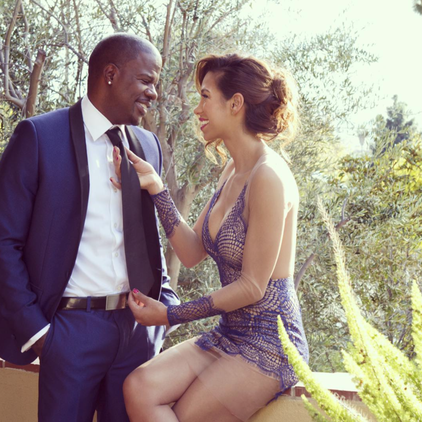 Going Strong! Ricky Bell and Wife Amy Correa Bell Celebrate Another Year Of Marital Bliss