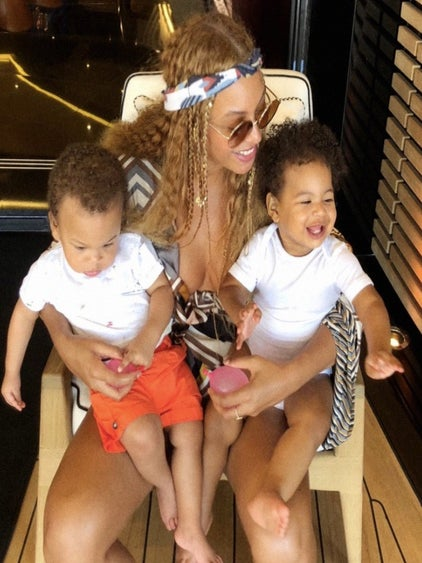 Meet The Twins: Beyonce Shares Adorable Photo Of Sir And Rumi