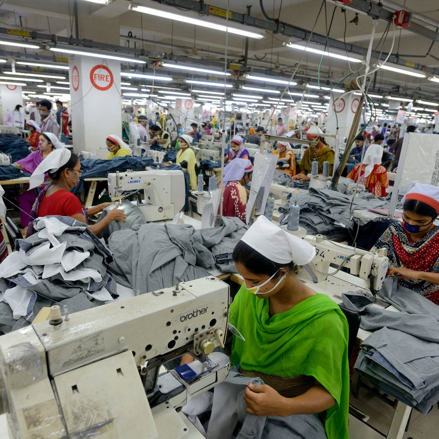 The Fashion Industry Is Considered One Of The Biggest Contributors To Modern Slavery