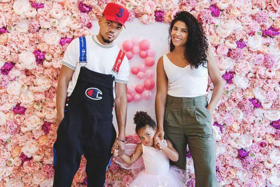 Cute Photos Of Chance the Rapper And His Fiancé Kirsten Corley ...