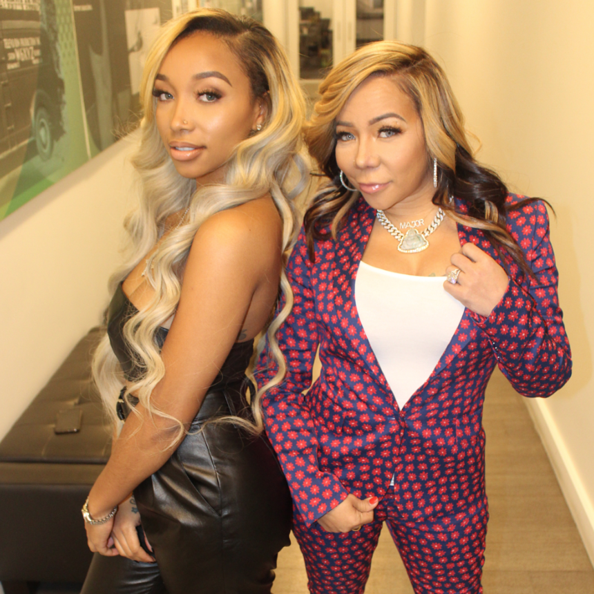 Tiny And Her Daughter Zonnique Are The Cutest Mommy-Daughter Duo