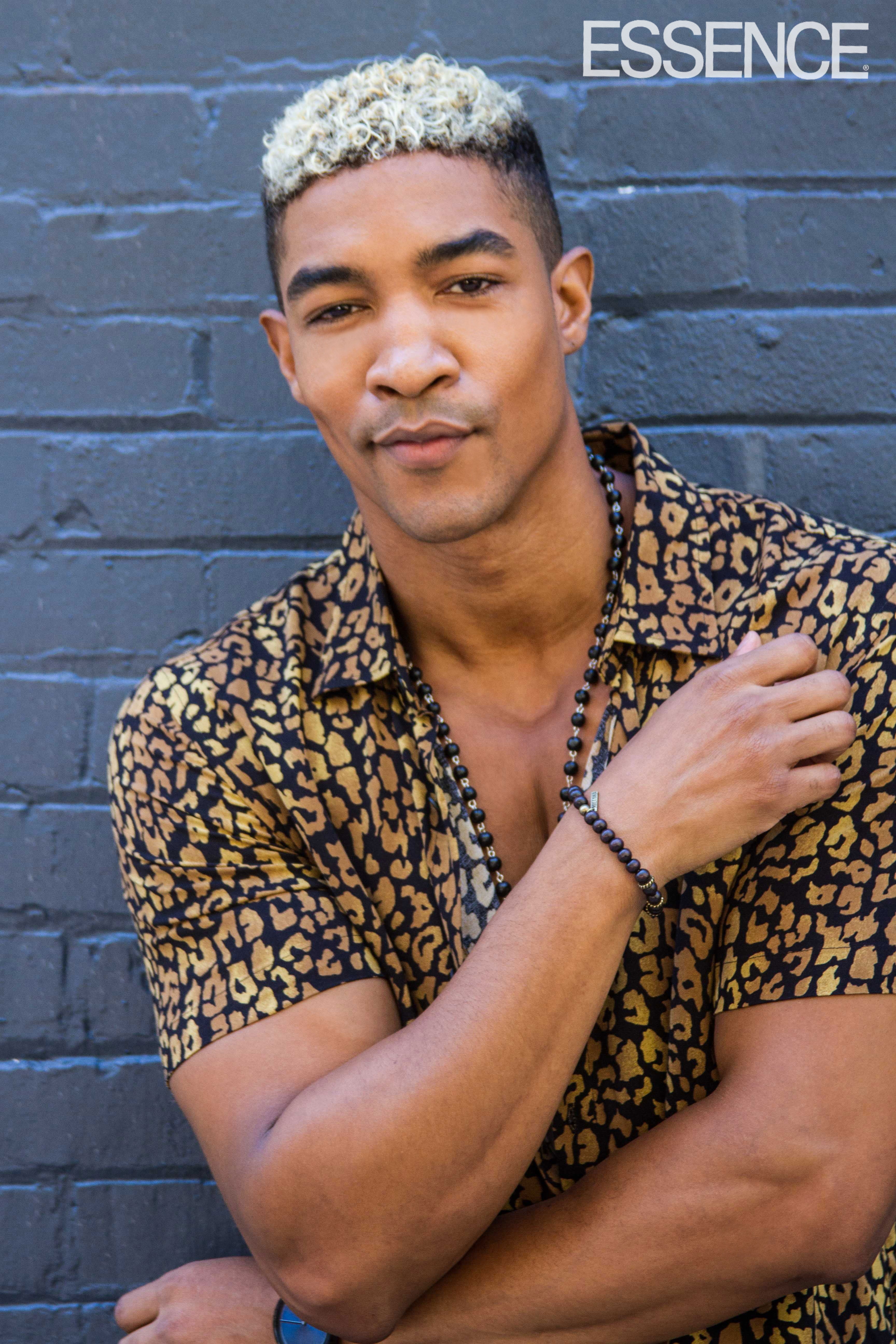 Male Supermodel Wendell Lissimore Tackles The DiversityCrisis In Fashion: 'We're Conditioned To Play Sports, Do Music Or Be In The Streets'
