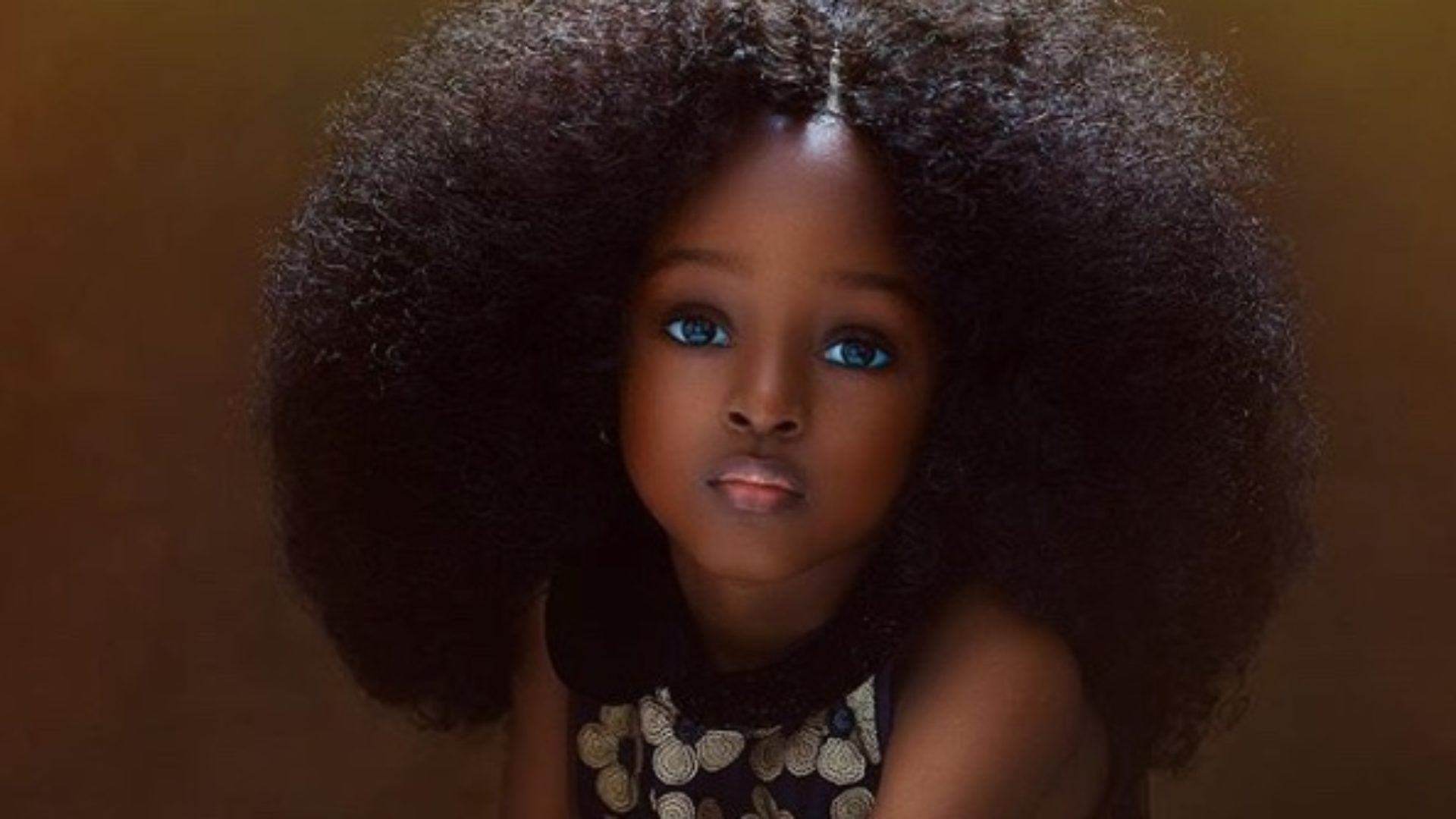 Nigerian 5-Year-Old's Photo Goes Viral, Labeled Most Beautiful Girl In The World