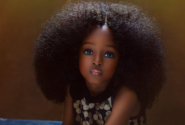 Nigerian 5 Year Old Labeled Most Beautiful Girl In The