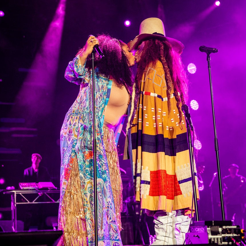 Erykah Badu and Jill Scott's Sister-Friend Lovefest at ESSENCE Fest Will Have You Calling Your Good Girlfriends