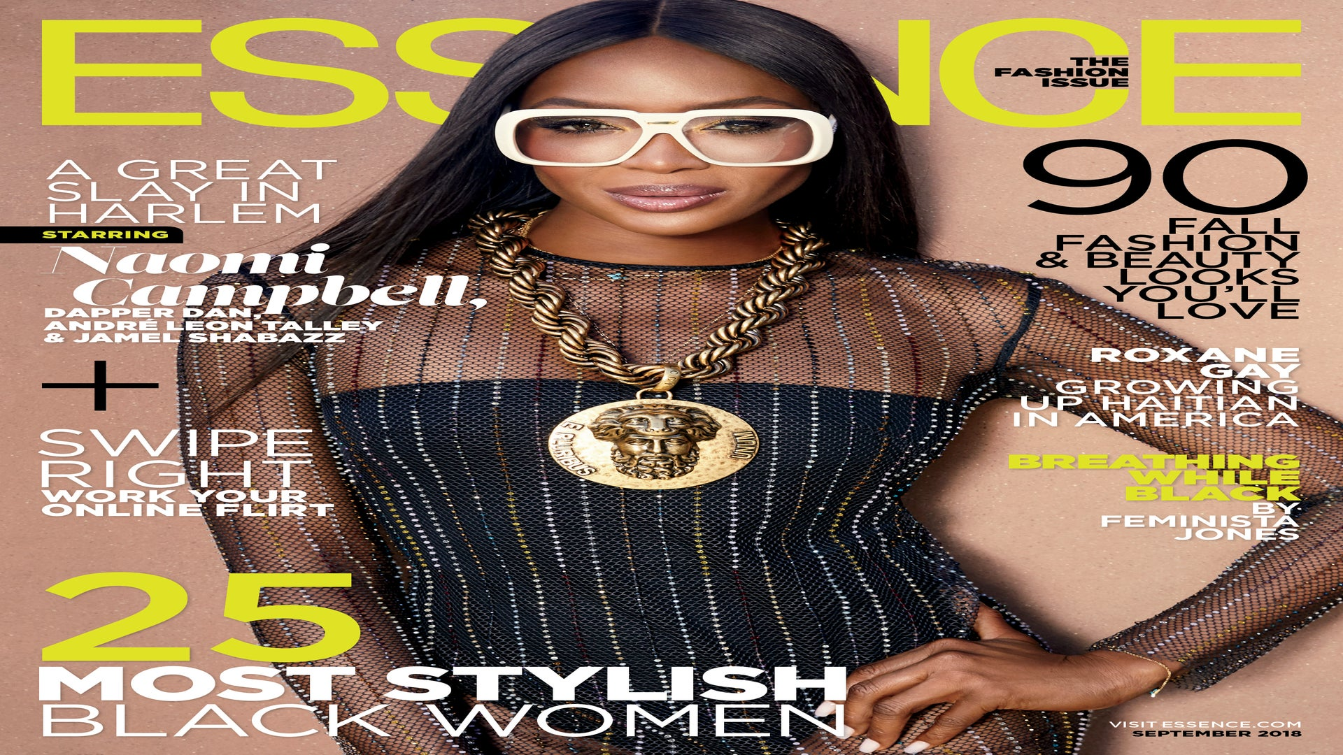 Supermodel Naomi Campbell Covers ESSENCE's September Fashion Issue, Honoring Dapper Dan
