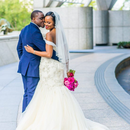 Bridal Bliss: Edwin And Georgette's Atlanta Wedding Was A Vibe