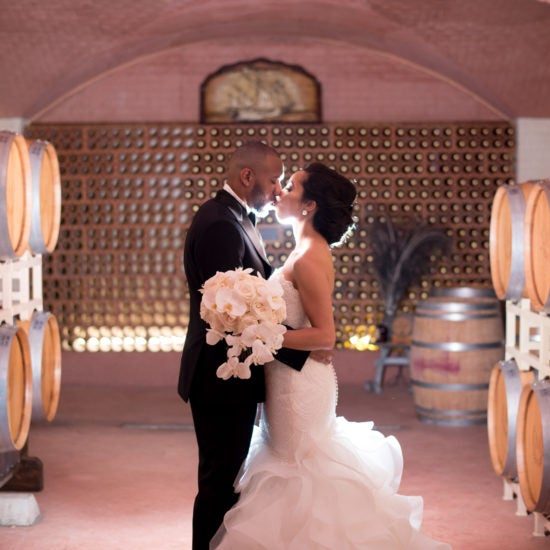 Bridal Bliss: Terrell And Grace's Gorgeous Vineyard Wedding Stole Our Hearts