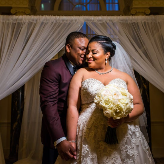 Bridal Bliss: Andre And Kimberly Had A Romantic Wedding Day In Atlanta