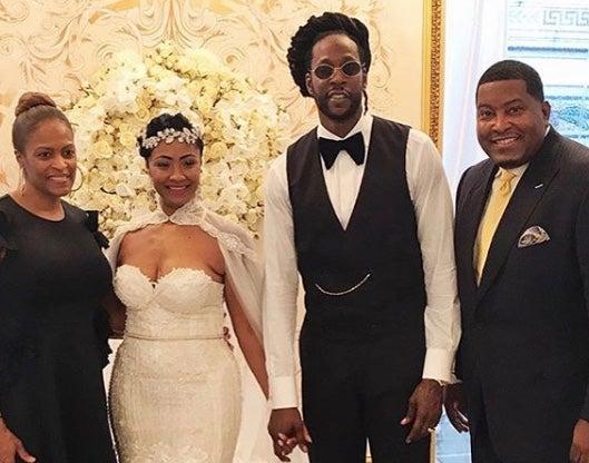2 Chainz And Longtime Love Kesha Ward Are Married
