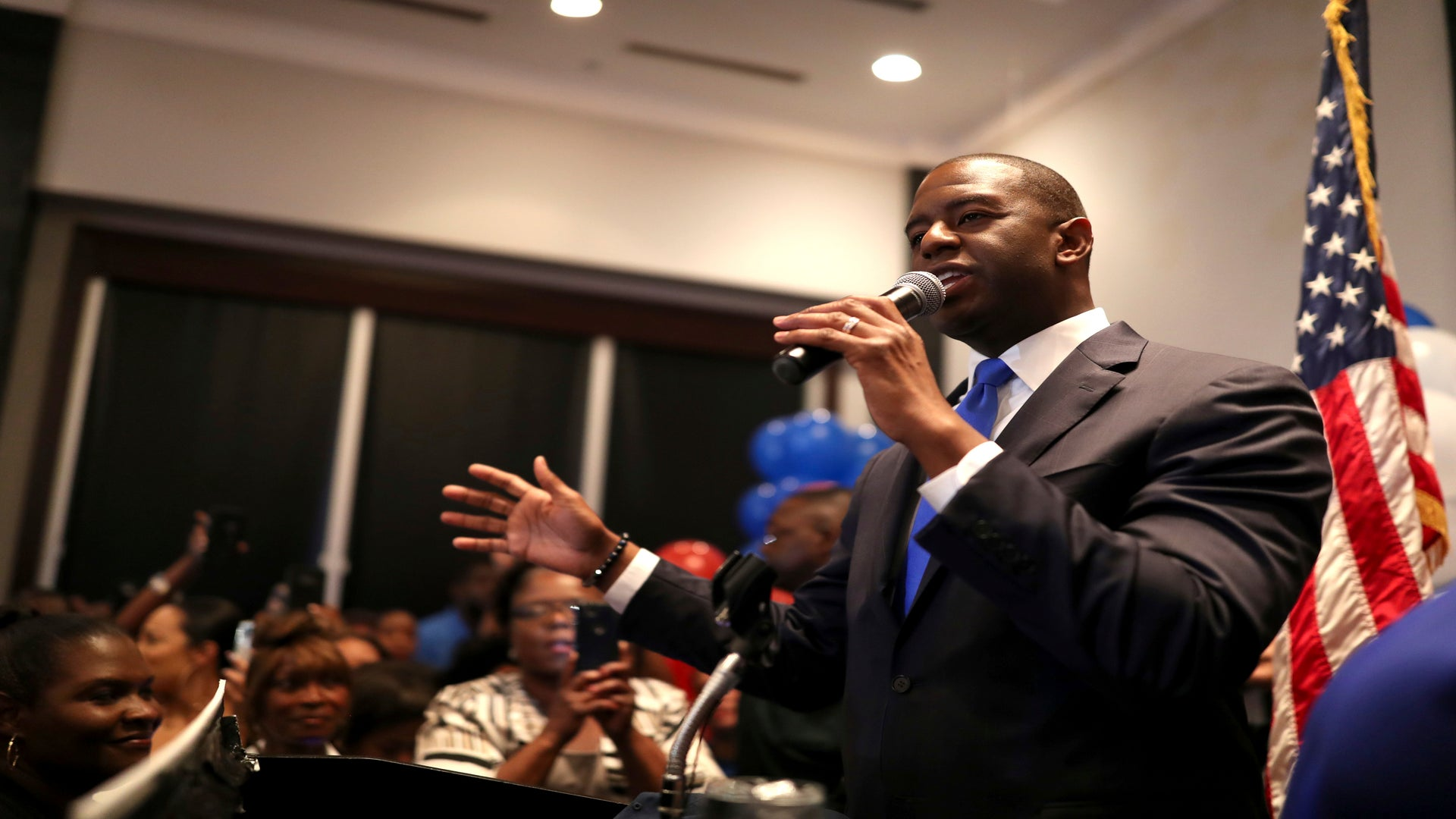 Neo-Nazi Group Targets Andrew Gillum With Racist Robocalls Ahead Of Florida's Election