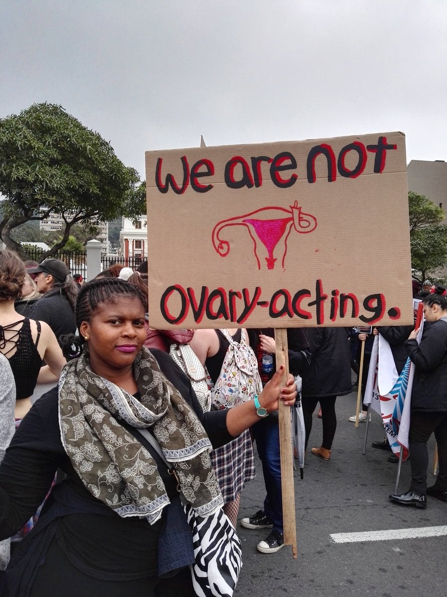 #TotalShutdown: South African Women Take to the Streets To Protest Gender-Based Violence