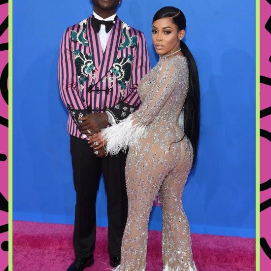 Gucci Mane And Keyshia Ka'Oir Serve Consistency On The VMA's Red Carpet
