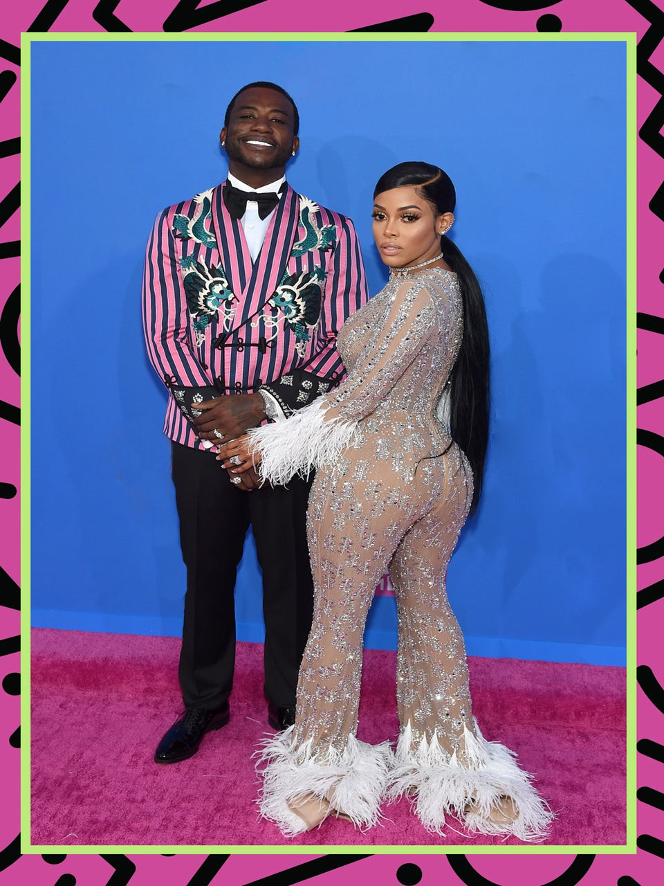 Gucci Mane And Keyshia Ka'Oir Serve Consistency On The VMA's Red Carpet
