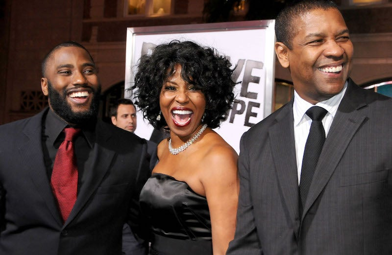 John David Washington Wants You To Put Some Respect On His Mom's Name