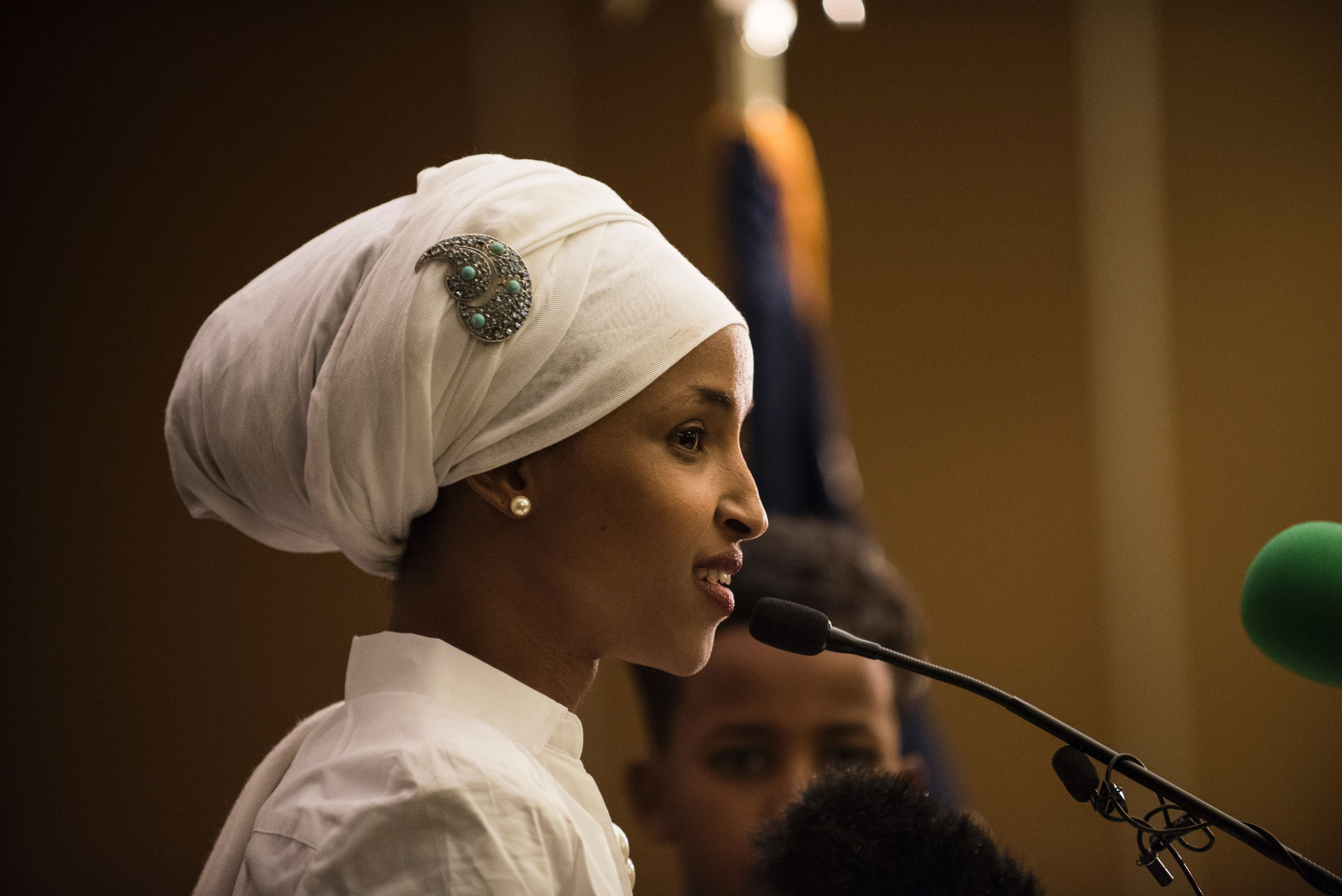#IStandWithIlhan: Dems Support Rep. Ilhan Omar After Trump's Islamaphobic Tweet