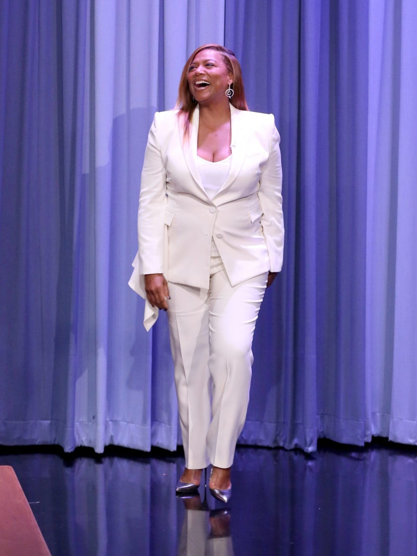 Queen Latifah Has Always Been A Boss And She's Always Slayed A Pantsuit