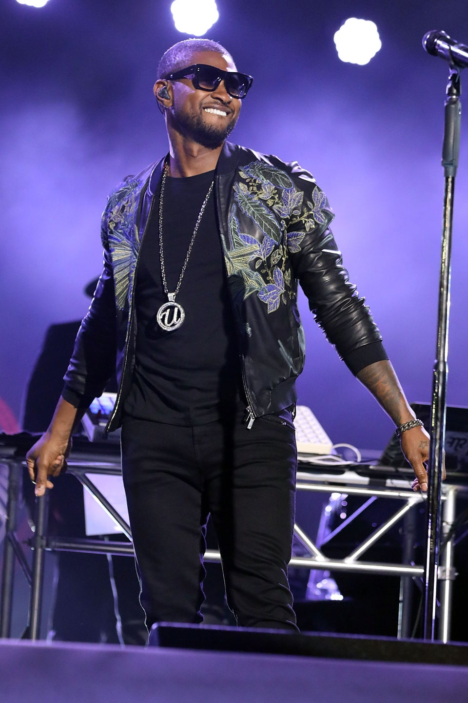 Usher Is Keeping Us On Our Toes With All These New Hairstyles
