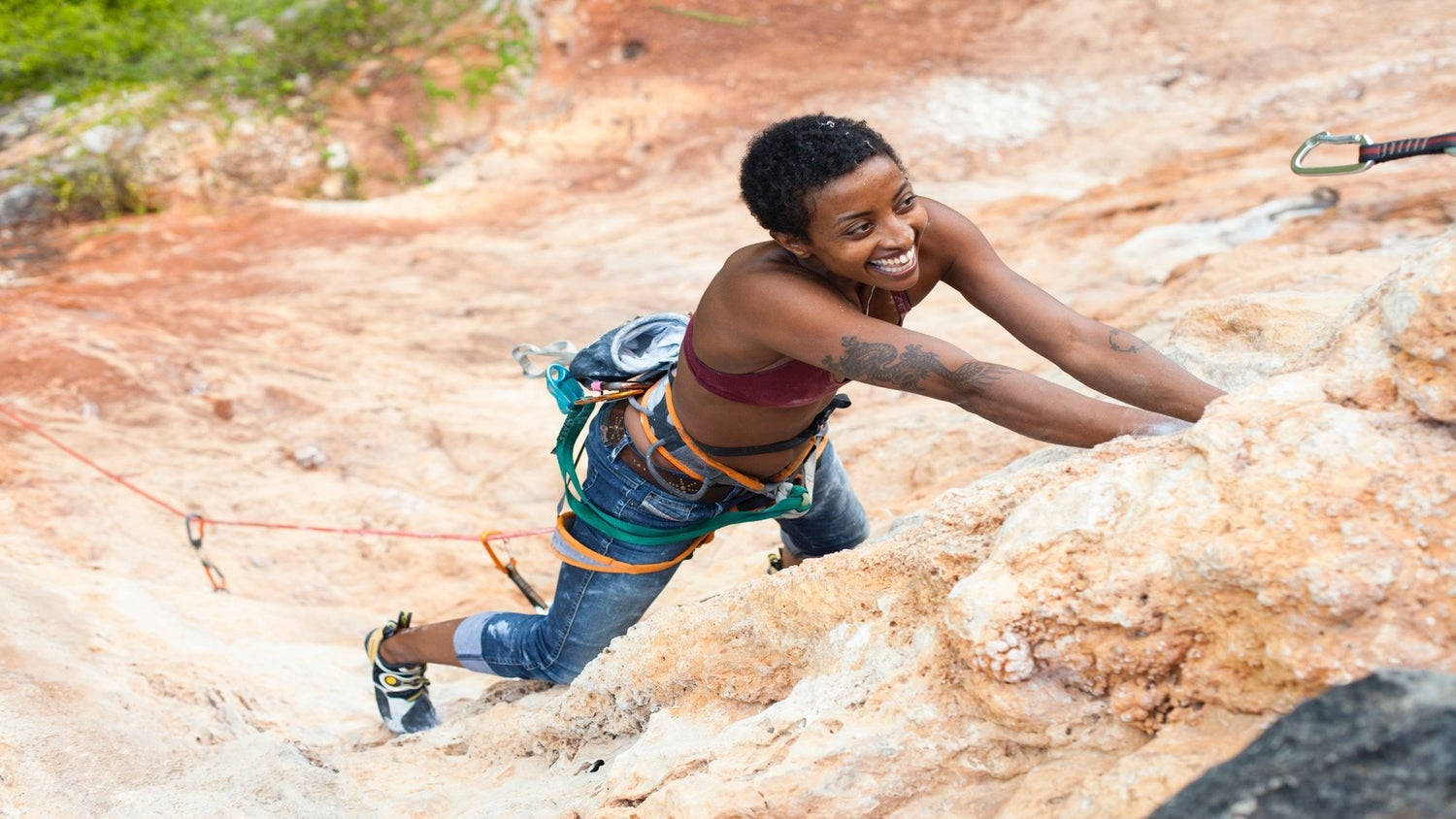 Meet The First Black Woman In The US To Own An Indoor Rock Climbing Gym
