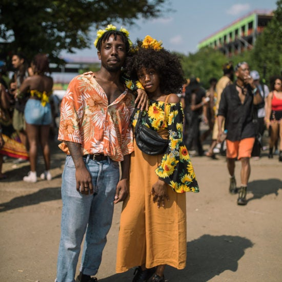 Cute Couples Basked In The Vibe At Afropunk 2018
