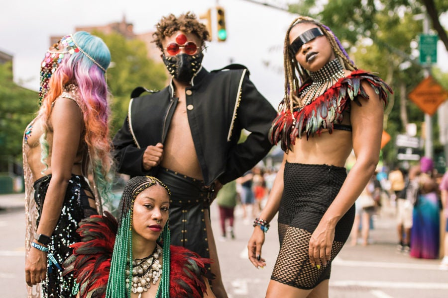 She Cute! All Of The Best Street Style Looks From This Year's AFROPUNK Festival