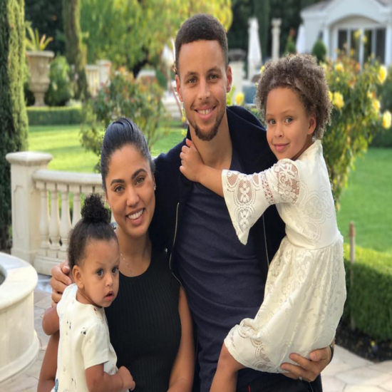 Steph Curry Wants His Daughters To Know 'There Are No Boundaries' When It Comes To Their Dreams