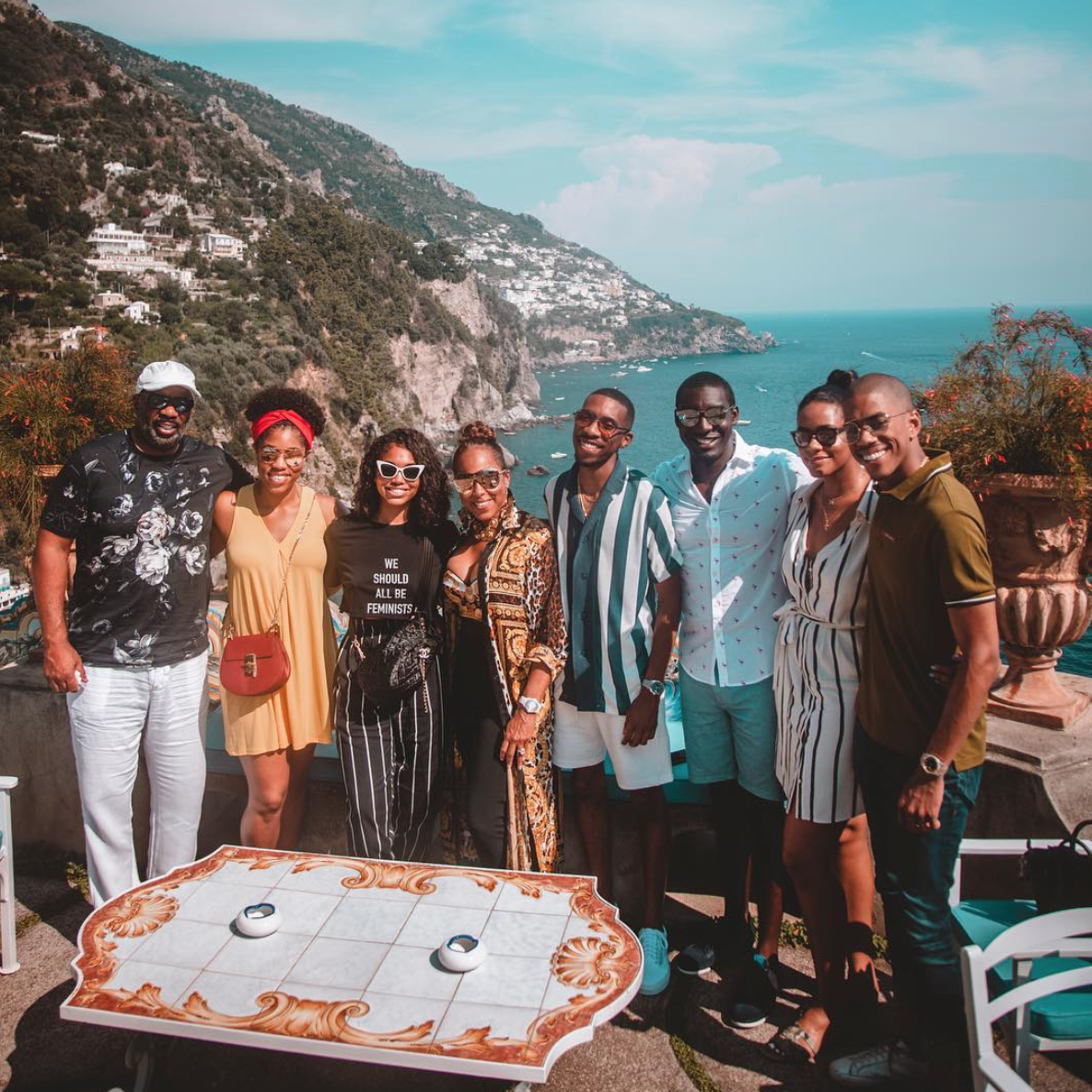 Steve And Marjorie Harvey Are On An Epic Family Vacation In Saint-Tropez