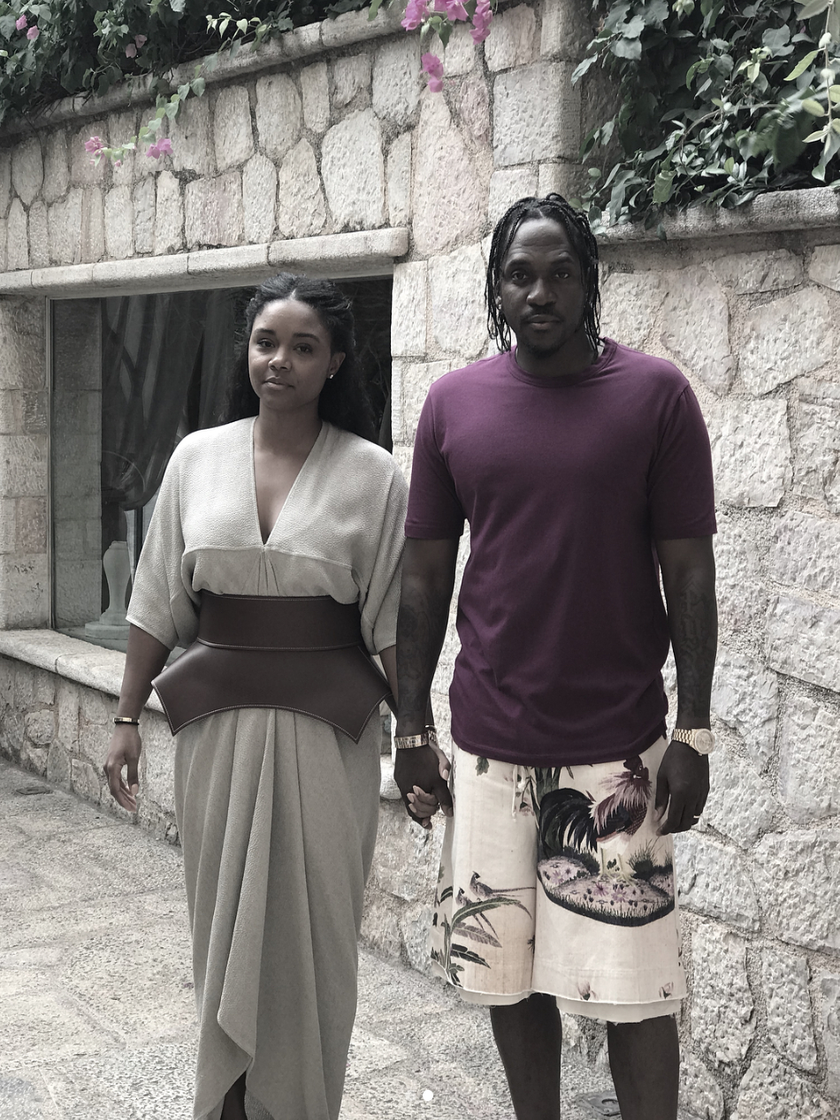 Pusha T And His Wife Virginia Williams Are Enjoying A Beautiful Honeymoon In Greece