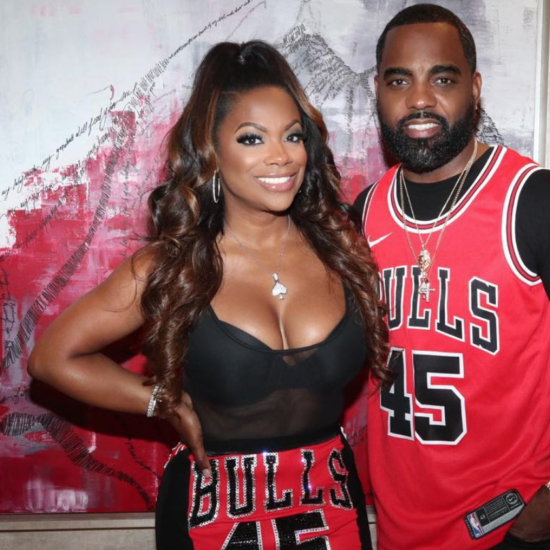 Kandi Burruss Threw Her Hubby Todd Tucker A Lit 45th 'Jerseys And Jordans' Birthday Bash