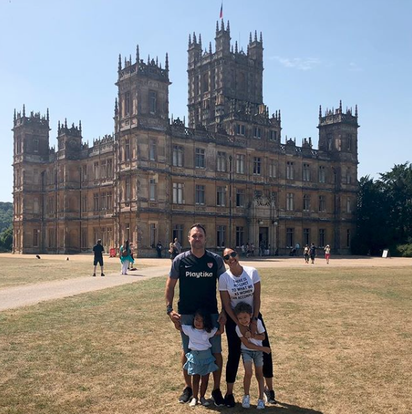 Family Fun! Tamera Mowry-Housley, Her Hubby Adam Housley And Their Children Are Exploring Europe