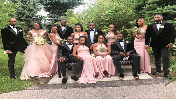 Black Wedding Moment Of The Day: This Bridal Party's Group Dance Moves Might Make For The Best Entrance Ever