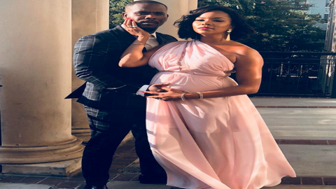 Date Night! LeToya Luckett Is All Smiles With Her Husband and Growing Baby Bump At A Friend's Wedding