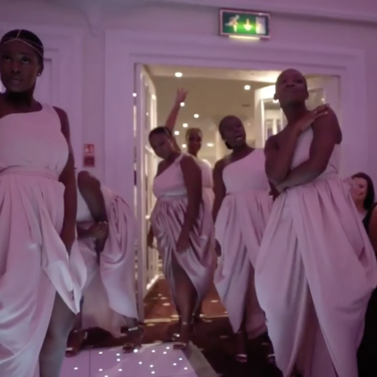 Black Wedding Moment Of The Day: These Bridesmaids Made The Perfect Reception Entrance