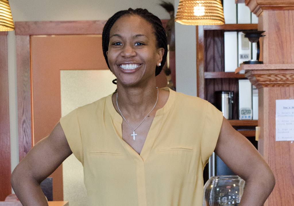 For Former WNBA Superstar Tamika Catchings, Her Dream Of Finally Owning A Tea Shop Was A Slam Dunk