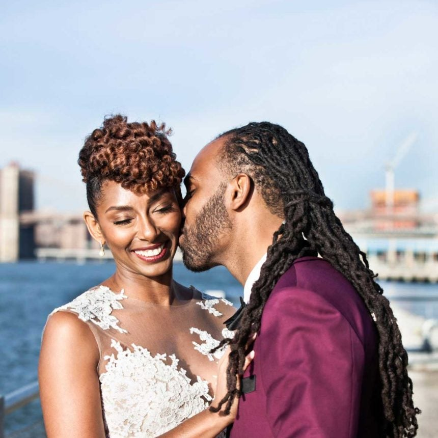 Bridal Bliss: Cute Brooklyn Wedding Alert! See Elijah And Jameelah's Beautiful Big Day