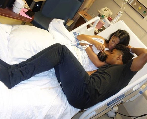 Chanel Iman Gives Birth To A Baby Girl, Cali Clay