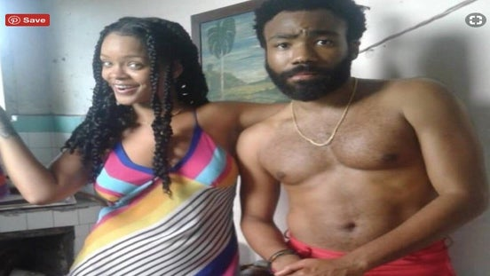 Are Rihanna And Donald Glover Shooting A Movie In Cuba?