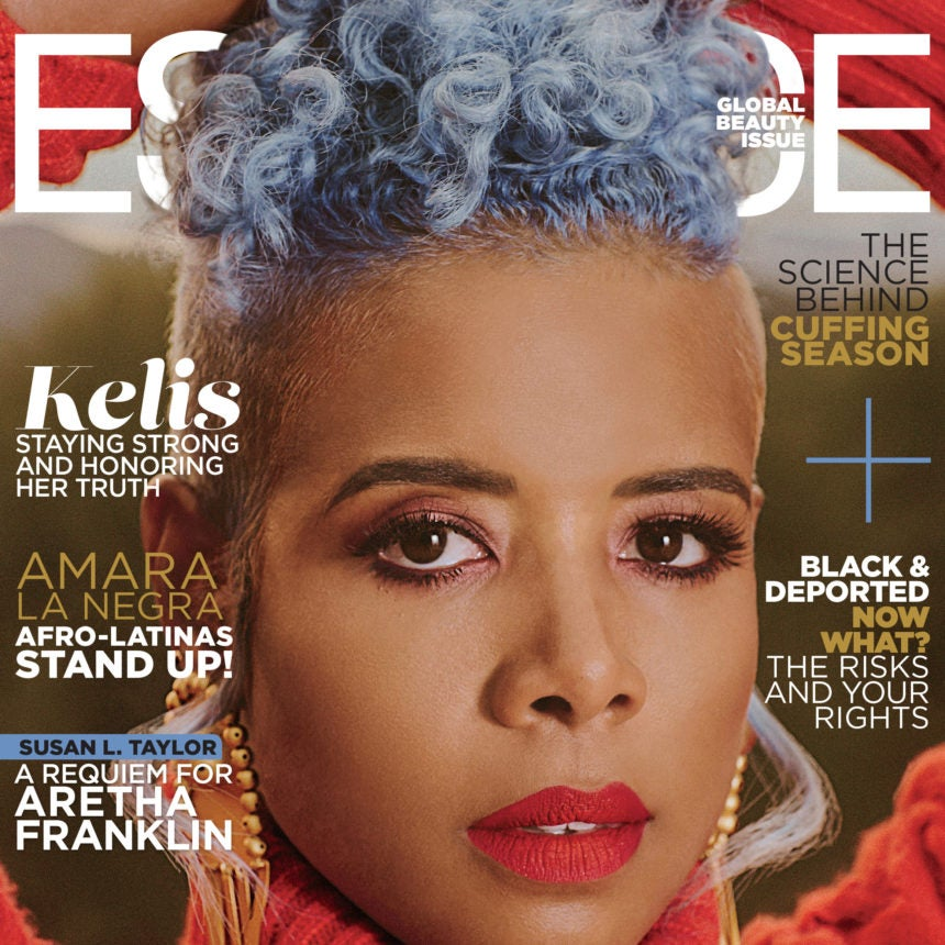 Kelis is coverstar for Essence global beauty edition