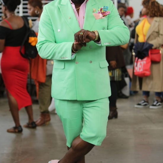 The Fellas Came Out To Slay At ESSENCE Street Style
