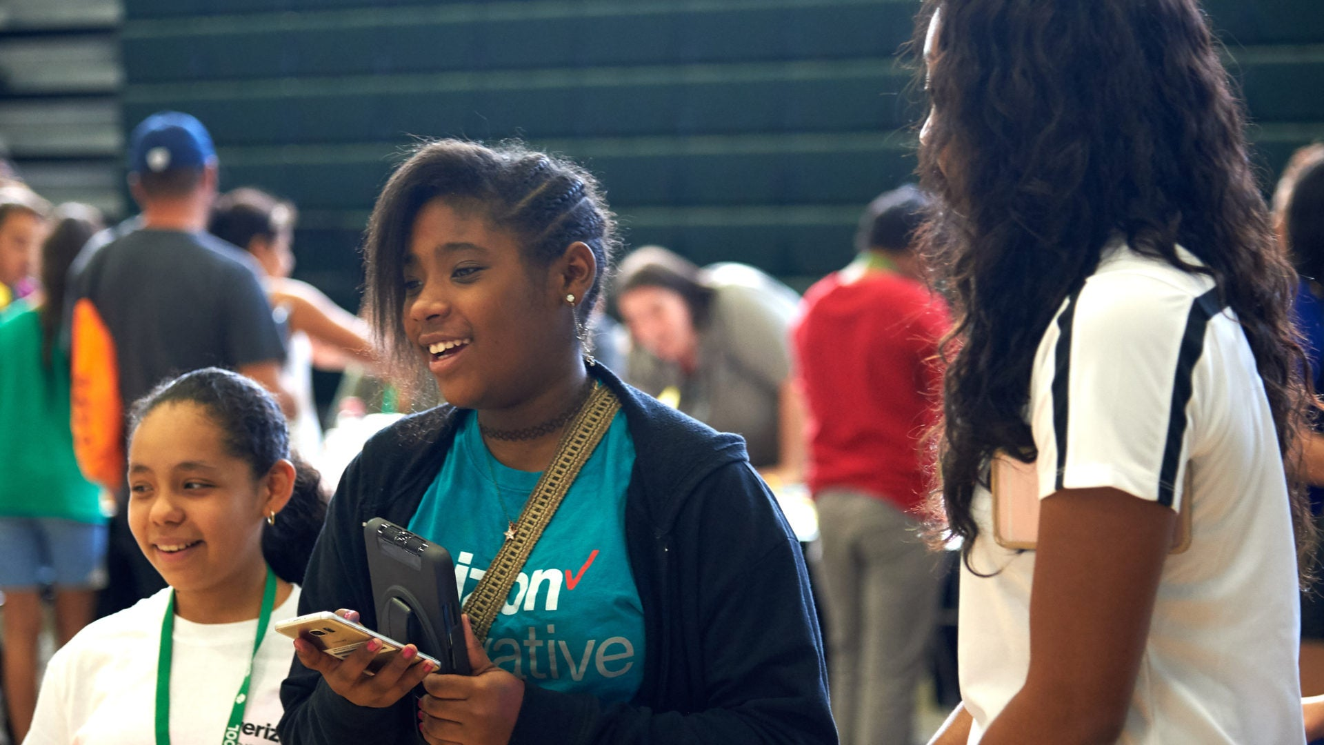 'Little Miss Flint,' Other Student Activists Partner With Verizon To Help Close The Digital Divide