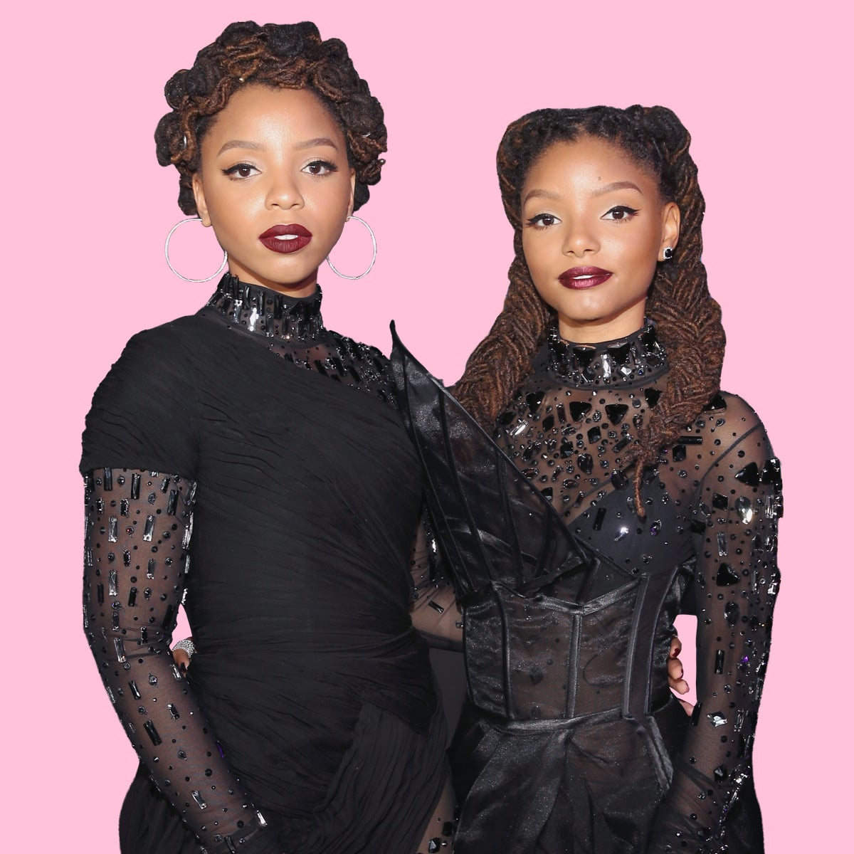 ESSENCE 25 Most Stylish: Chloe And Halle Are As Fierce On The Red Carpet As They Are On The Stage