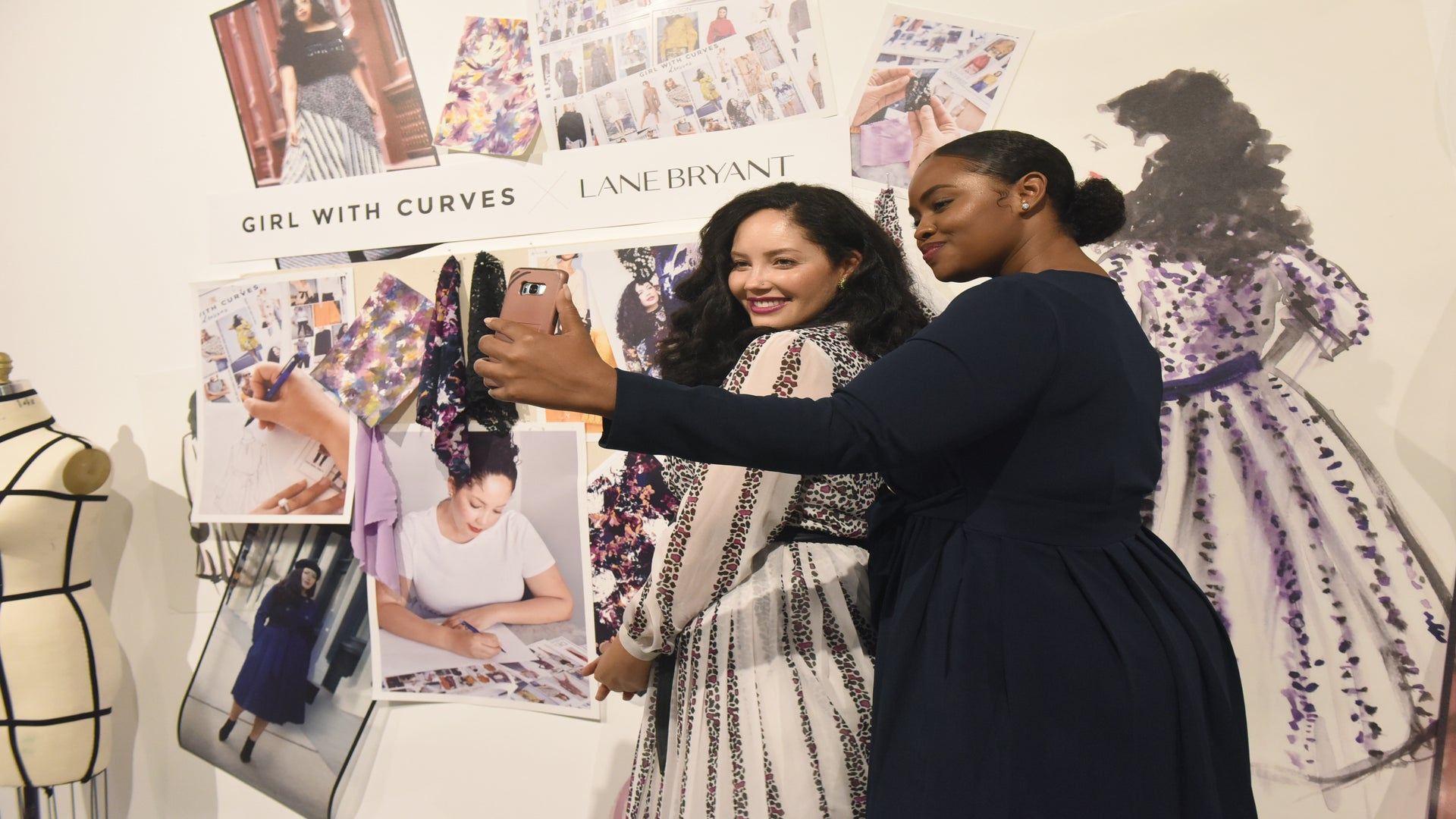 Girl With Curves Teams Up With Lane Bryant To Create A New Eye-Catching Collection