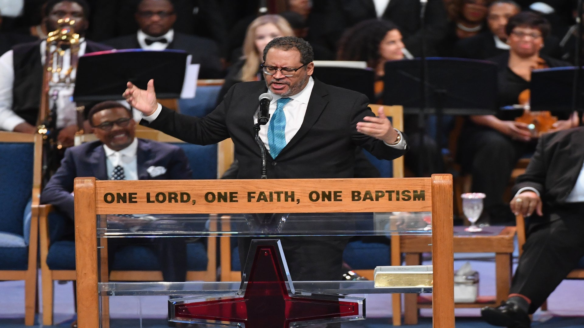 ICYMI: Michael Eric Dyson Rips Trump Over Aretha Franklin Comments – 'She Didn't Work For You, She Worked Beyond You!'