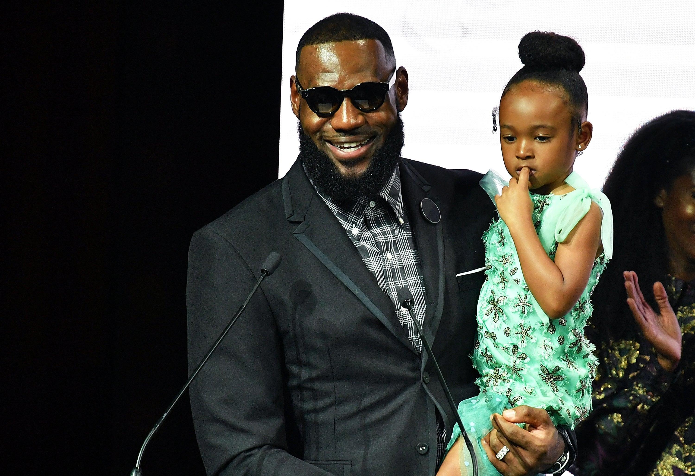 NYFW: LeBron James Joins Harlem's Fashion Row To Celebrate 11 Years Of Black Style