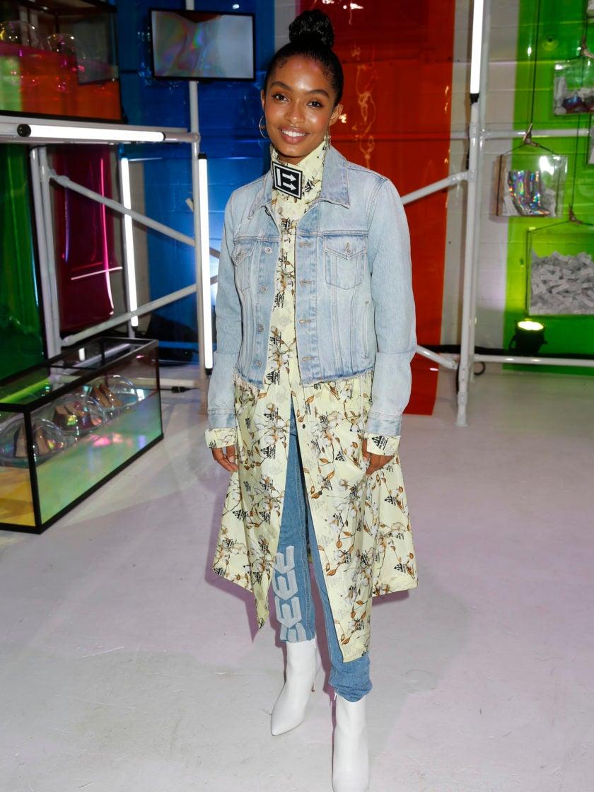 Yara Shahidi Takes A Political Stand During New York Fashion Week