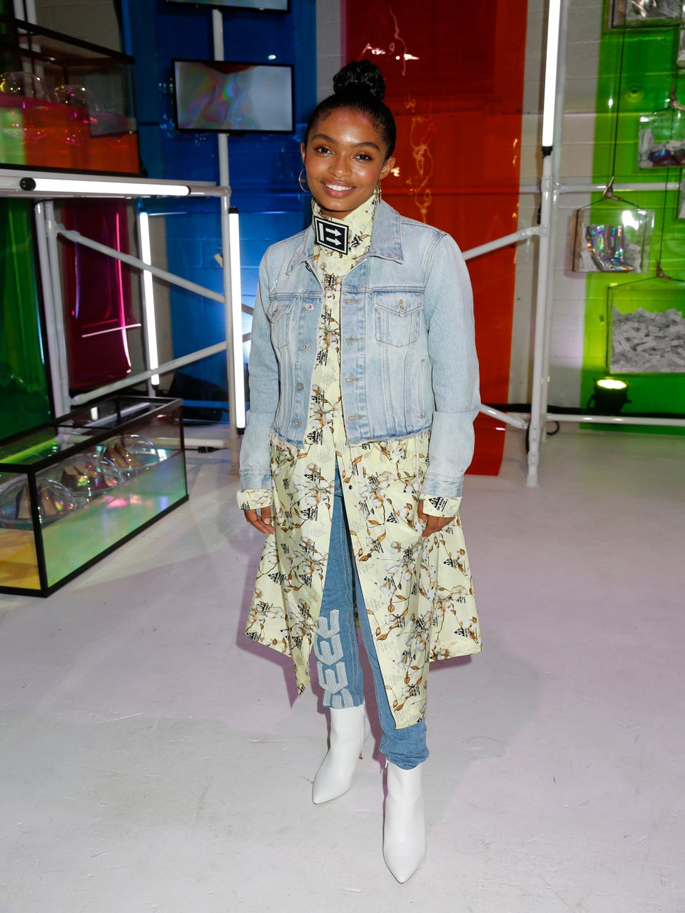 Yara Shahidi Takes A Political Stand During New York Fashion Week